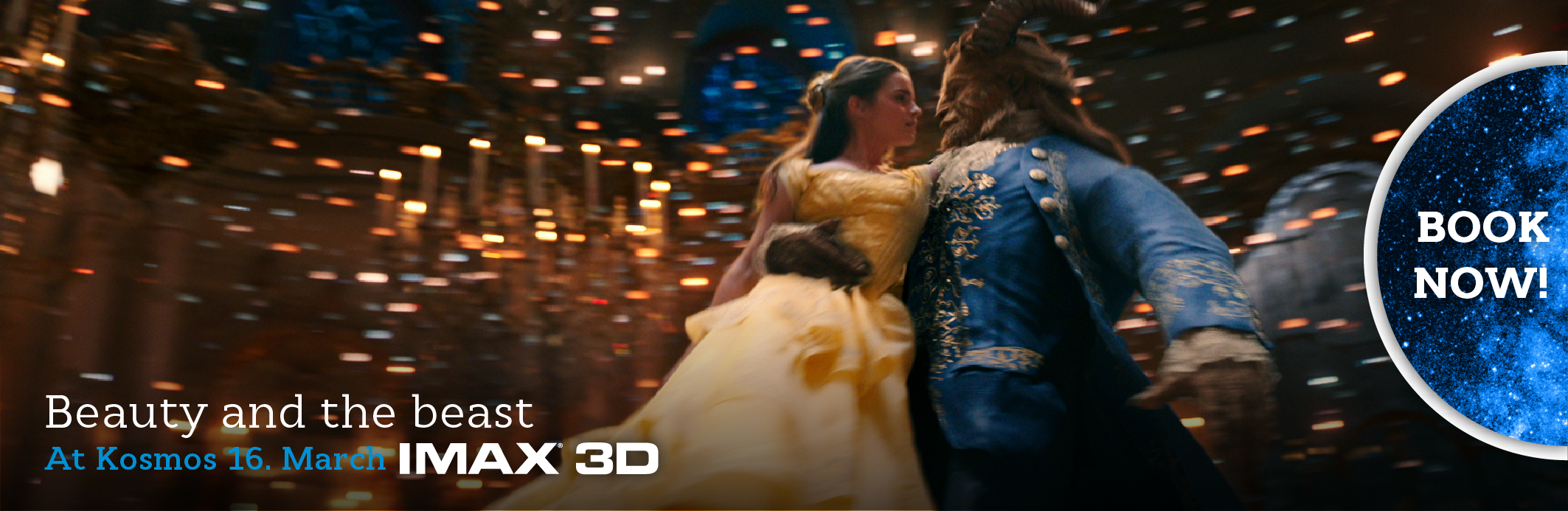 Beauty and the Beast IMAX 3D (banner)
