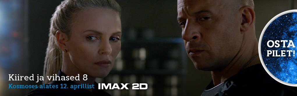 Kiired ja vihased 8 IMAX 2D (bänner)