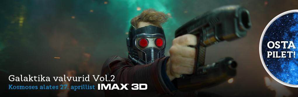 Galaktika valvurid  Vol.2 IMAX 3D (bänner)