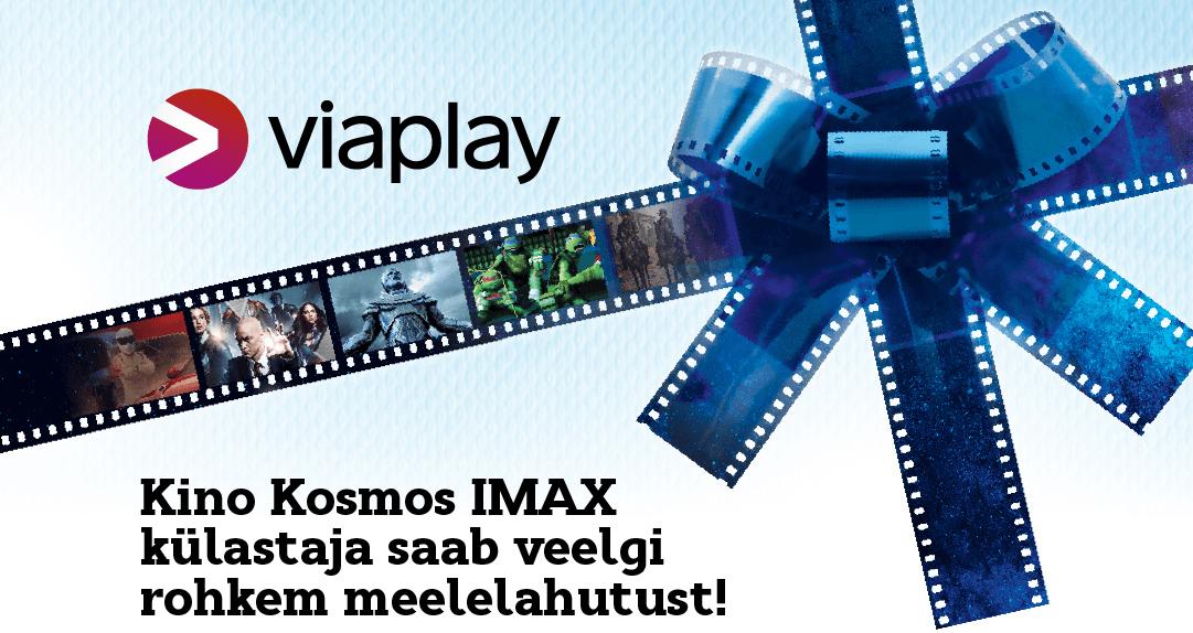 Kino Kosmos IMAX külastaja saab veelgi rohkem meelelahutust!