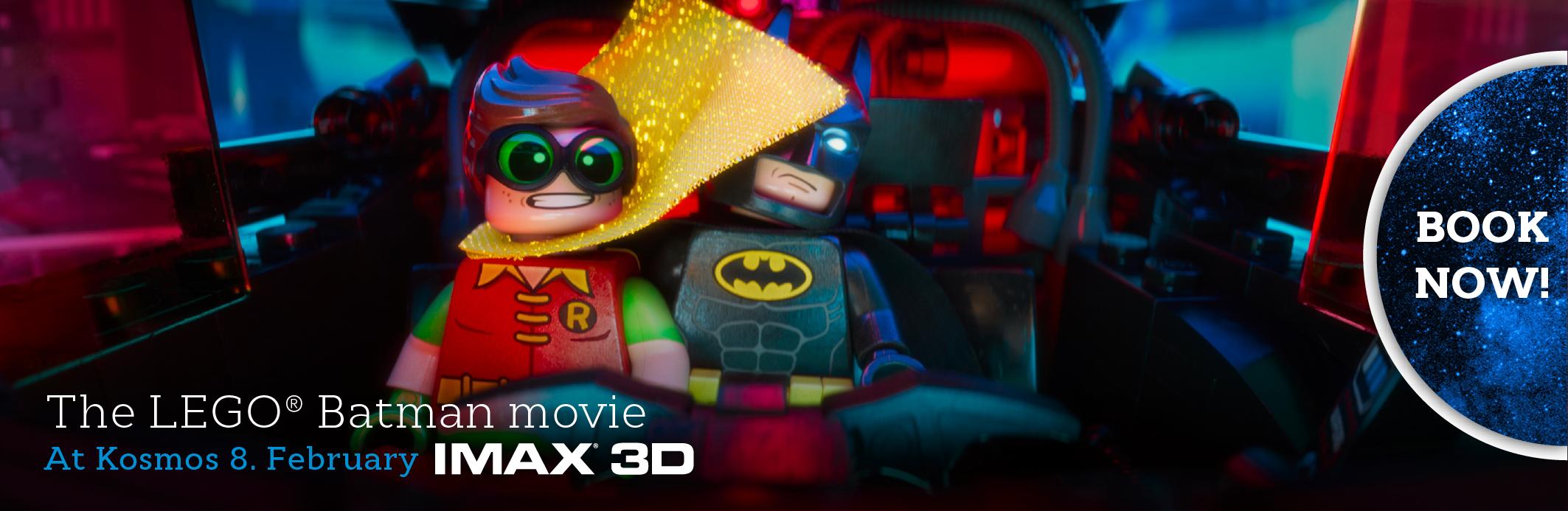 Lego Batman Movie IMAX 3D (banner)