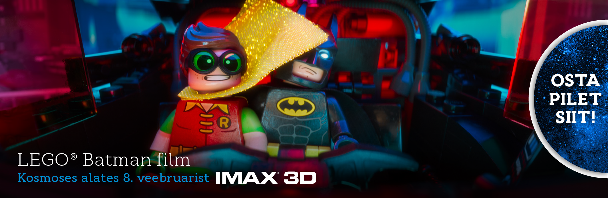 LEGO® Batman film IMAX 3D (bänner)