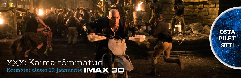 xXx: Käima tõmmatud IMAX 3D (bänner)